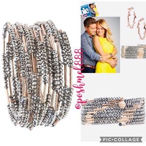 :: Stella & Dot Sparkly Bardot Wrap Bracelet